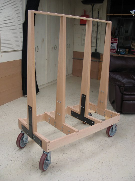 plywood carts