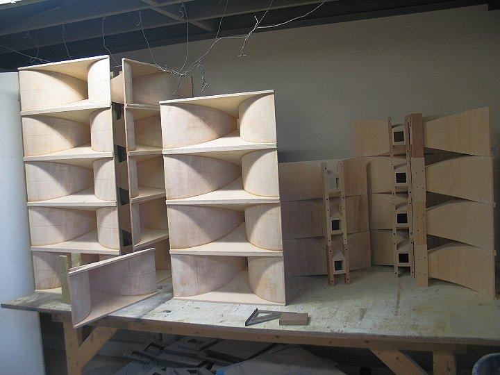 volti audio nl14 new horn speakers klipsch upgrades. Black Bedroom Furniture Sets. Home Design Ideas