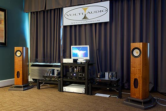 Volti Audio Nl18 Capital Audiofest 2012